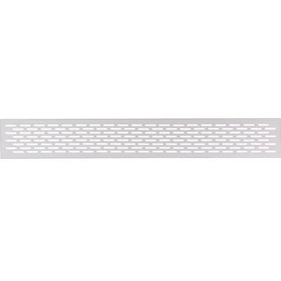 Ventilation grill, 250/500 x 70 mm, for recess mounting