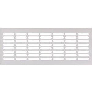 Ventilation grill, 250/500 x 102 mm, for recess mounting