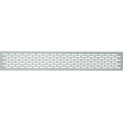 Ventilation grill, 250 x 150 mm, for recess mounting