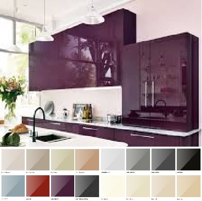 5G GLOSS Made To Measure Kitchen/Bedroom Accessories (Vivid Colours)