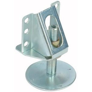 Partition adjuster with bracket, Ø 15 mm, 200 kg