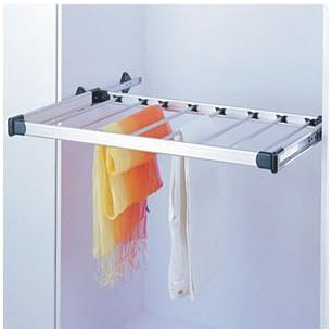 Bedroom pull-out trouser rack