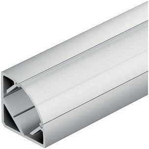Aluminium corner profile, surface mounting