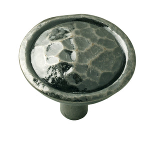 Hammered Pewter Knob