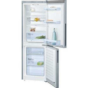 BOSCH Fridge freezer Stainless steel look KGV33VL31G