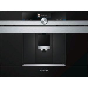 SIEMENS Fully automatic bean-to-cup coffee centre stainless steel CT636LES6