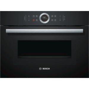 BOSCH Compact Oven with Microwave CMG633BB1B