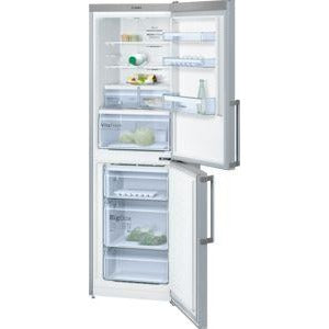BOSCH No Frost, Fridge freezer Stainless steel look KGN34XL35G