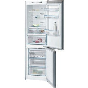 BOSCH No Frost, Fridge freezer Stainless steel look KGN36VL35G