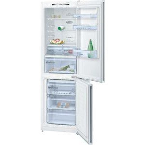 BOSCH No Frost, Fridge freezer White KGN36VW35G