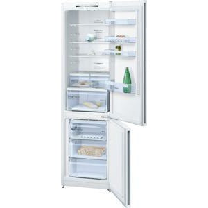 BOSCH No Frost, Fridge freezer White KGN39VW35G