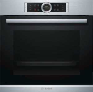 BOSCH Single Oven w/Steam Function HRG675BS1B