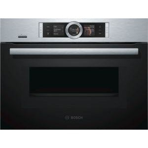 BOSCH Compact Oven with Microwave CMG676BS6B