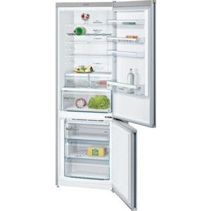 BOSCH No Frost, Fridge freezer Stainless steel look KGN49XL30G