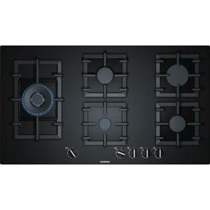 SIEMENS 90cm gas cooktop Hard Glass hob EP9A6SB90