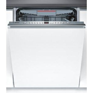 BOSCH Brushed steel Fully integrated SMV46MX00G