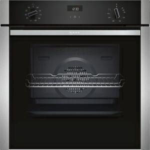 NEFF Single oven Stainless steel B3ACE4HN0B