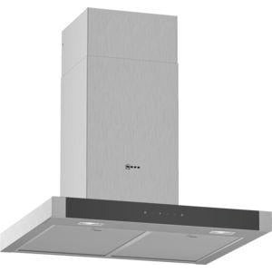 NEFF Box design Chimney hood Stainless steel 60 cm wide D64BHM1N0B