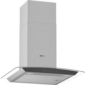NEFF Glass design Chimney hood Stainless steel 60 cm wide D64AFM1N0B