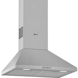 NEFF Slim pyramid Chimney hood Stainless steel 60 cm wide D62QBC0N0B