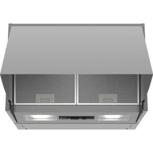 NEFF Integrated hood silver 60 cm wide D64MAC1X0B
