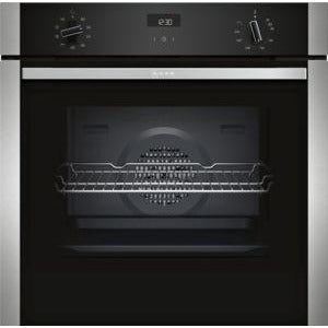 NEFF Single Oven Stainless steel B1ACE4HN0B