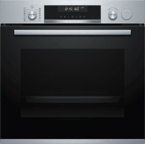 BOSCH Single Oven w/Steam Function HRS538BS6B