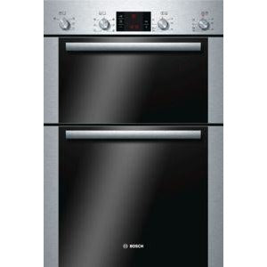 Classixx Built-in double multi-function oven brushed steel HBM43B250B