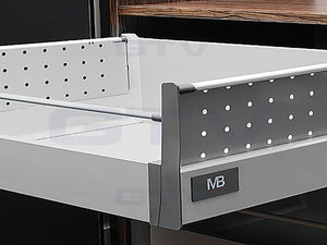 GTV Modern Box Perforated Side for Pot/Pan Drawer