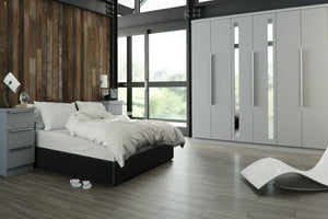 5G GLOSS Made To Measure Bedroom Door Styles - Bronze & Silver Group (Neutrals)