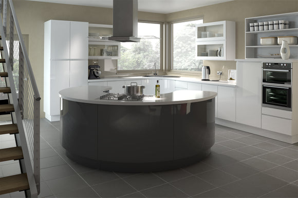 5G Kitchen Doors - Platinum Group (Gloss White)