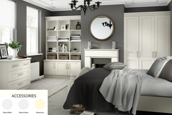5G GLOSS Made To Measure Bedroom Accessories (Neutral Colours)