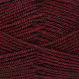 King Cole Fashion Aran in shade Redcurrant - a dark red shade
