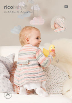 RICO PATTERN 517 - COAT AND BERET