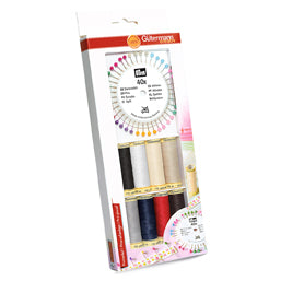 GUTERMANN SEW_ALL THREAD SET - WITH FREE PRYM PEARL HEADED PINS