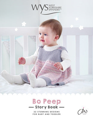 West Yorkshire Spinners Bo Peep Pattern Book by Jenny Watson