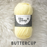 West Yorkshire Spinners Bo Peep yarn ball in Buttercup