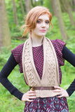 West Yorkshire Spinners Women's Scarf Knitting Pattern in Illustrious DK