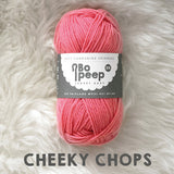 West Yorkshire Spinners Bo Peep yarn ball in Cheeky Chops