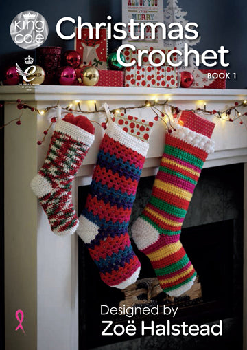 King Cole Christmas Crochet - Book 1