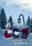 Christmas knits book 5 by King Cole, designed by Jane Burns.