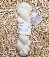 West Yorkshire Spinners Un-dyed 100% DK Bluefaced Leicester Wool Yarn in Ecru