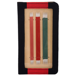 KNITPRO ZING DOUBLE POINTED NEEDLES 15CM SET & CASE