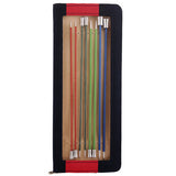 KnitPro Zing 35cm Aluminium Single Pointed Needles for Knitting, in a Case