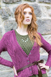 West Yorkshire Spinners Women's Cardigan Knitting Pattern in Illustrious DK