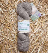 West Yorkshire Spinners Un-dyed 100% DK Bluefaced Leicester Wool Yarn in Light Brown