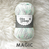 West Yorkshire Spinners Bo Peep yarn ball in Magic