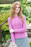 West Yorkshire Spinners Women's Sweater Knitting Pattern in Illustrious DK