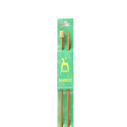 PONY BAMBOO SINGLE POINTED NEEDLES 33CM