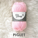 West Yorkshire Spinners Bo Peep yarn ball in Piglet